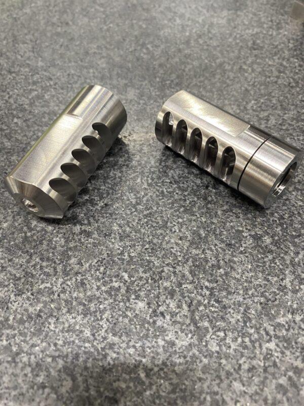 SRS mini self timing muzzle brake
